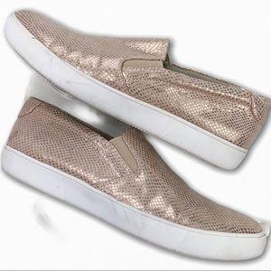 NATRUALIZER Ava 3 Slip On Rose Gold Sneaker SZ 8.5